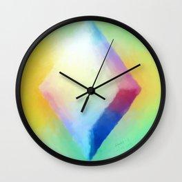 """Prisms & Diamonds"" Wall Clock"