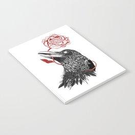 Raven Flower Notebook
