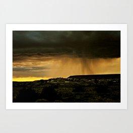 Looks Like Rain Art Print