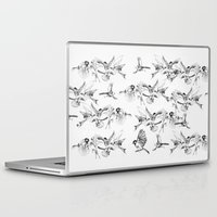 saga Laptop & iPad Skins featuring BIRD GEHRL by Saga-Mariah