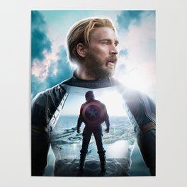 CaptainAmerica (A Hero's End) Poster