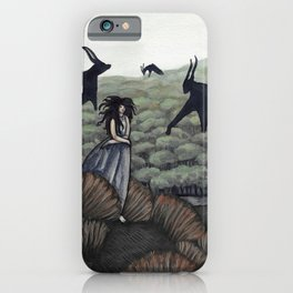 Demons in the Distance iPhone Case