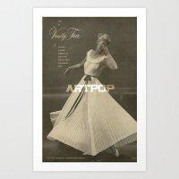 artpop Art Prints featuring ARTPOP by universemiller
