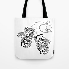 Ampersand Mittens Tote Bag