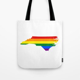 Gay Pride North Carolina (LGBT) Tote Bag