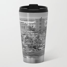 Guayaquil Aerial View from Window Plane Travel Mug