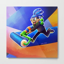 it's about squids my dude Metal Print