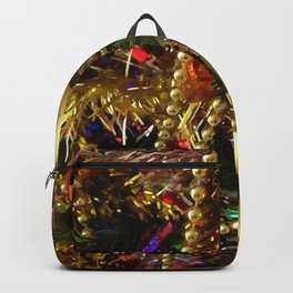 Christmas Ornaments and Decorative Beads Backpack