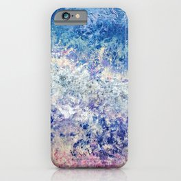 Twilight Tides - Abstract Art iPhone Case