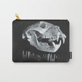 Bear Skull Still Life Carry-All Pouch