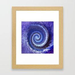183 - Spiral City abstract design Framed Art Print