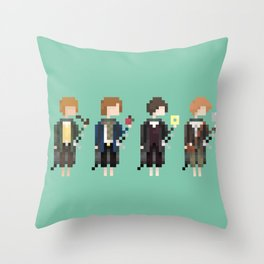 Concerning Hobbits Throw Pillow