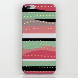 WAVING COLORS iPhone Skin