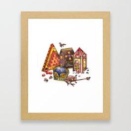 Wizarding World Candy Framed Art Print