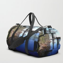 Crisp early November day Duffle Bag