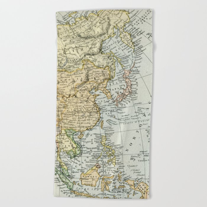 China Russia Map on