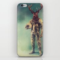 antlers iPhone & iPod Skins featuring Without Words by rubbishmonkey