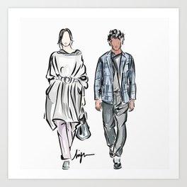 High fashion Art Print