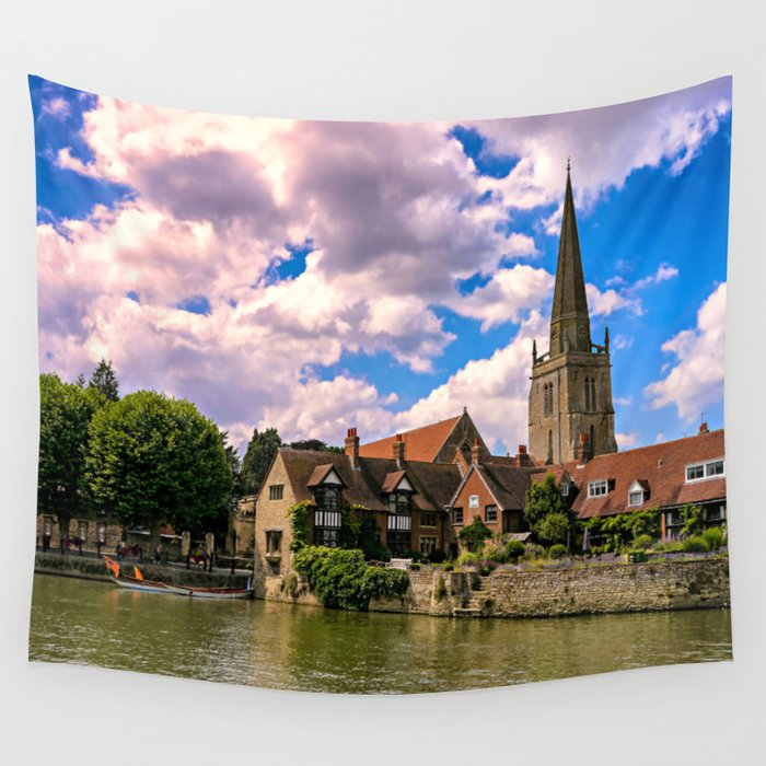 Along the Thames. Wall Tapestry