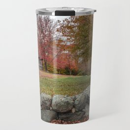 Babson Museum on a rainy October day 10-24-18 Travel Mug