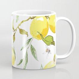 Watercolor lemons 8 Coffee Mug