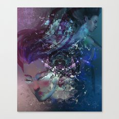 Black Hole Apprehension Canvas Print
