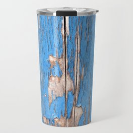 Flaky Blue 61 Travel Mug