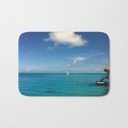 Bora Bora Hilton NUI Bungalow View Bath Mat