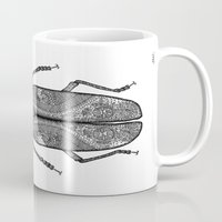 titan Mugs featuring Titan Beetle by Viper in the Violets