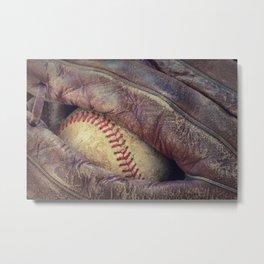 Baseball II Metal Print