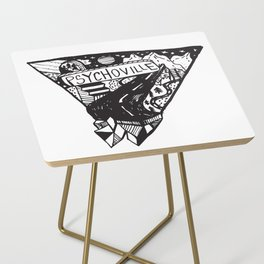 Psychoville black ink drawing Side Table
