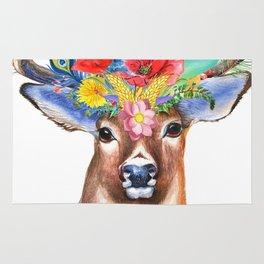 Hipster Deer Rug