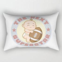 The next superstar - american football Rectangular Pillow