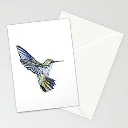 Flying hummingbird Stationery Cards