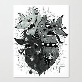 M Y T H Canvas Print