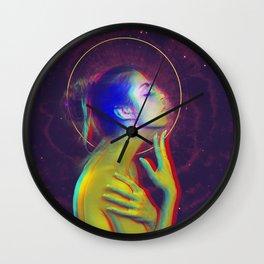 Cosmic Collision Wall Clock