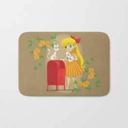 Retro Sailor Venus Bath Mat