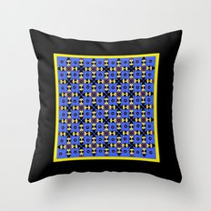 Beetles Pattern Throw Pillow