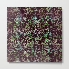 Quantum Scatter Graph Metal Print