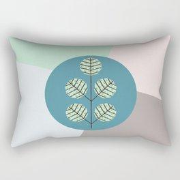 tree patchwork  Rectangular Pillow