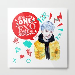 EXO WE ARE ONE! Xiumin Version Metal Print