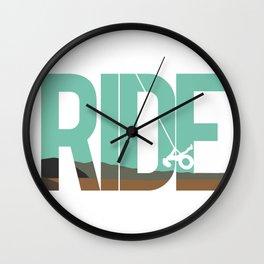 Ride LDR Wall Clock