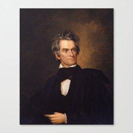 John C. Calhoun Canvas Print