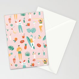 Beach party Stationery Cards