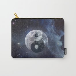 Yin Yang Moon Carry-All Pouch