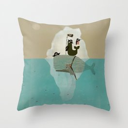 we are pirates too Throw Pillow