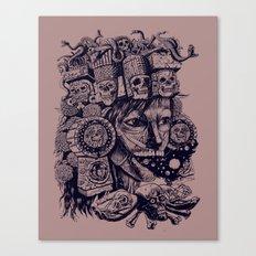 Mictecacihuatl Canvas Print