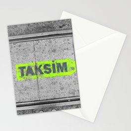 ISTANBUL STREET Stationery Cards