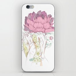 There's a Feeling In My Chest That Wants to Glide Like Leaves, and Set Like Fires 2/2 iPhone Skin