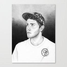 Alfie Deyes/Pointlessblog Canvas Print